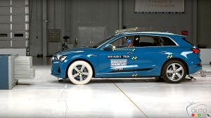 Audi E-Tron Earns Top Safety Pick+ Rating From IIHS